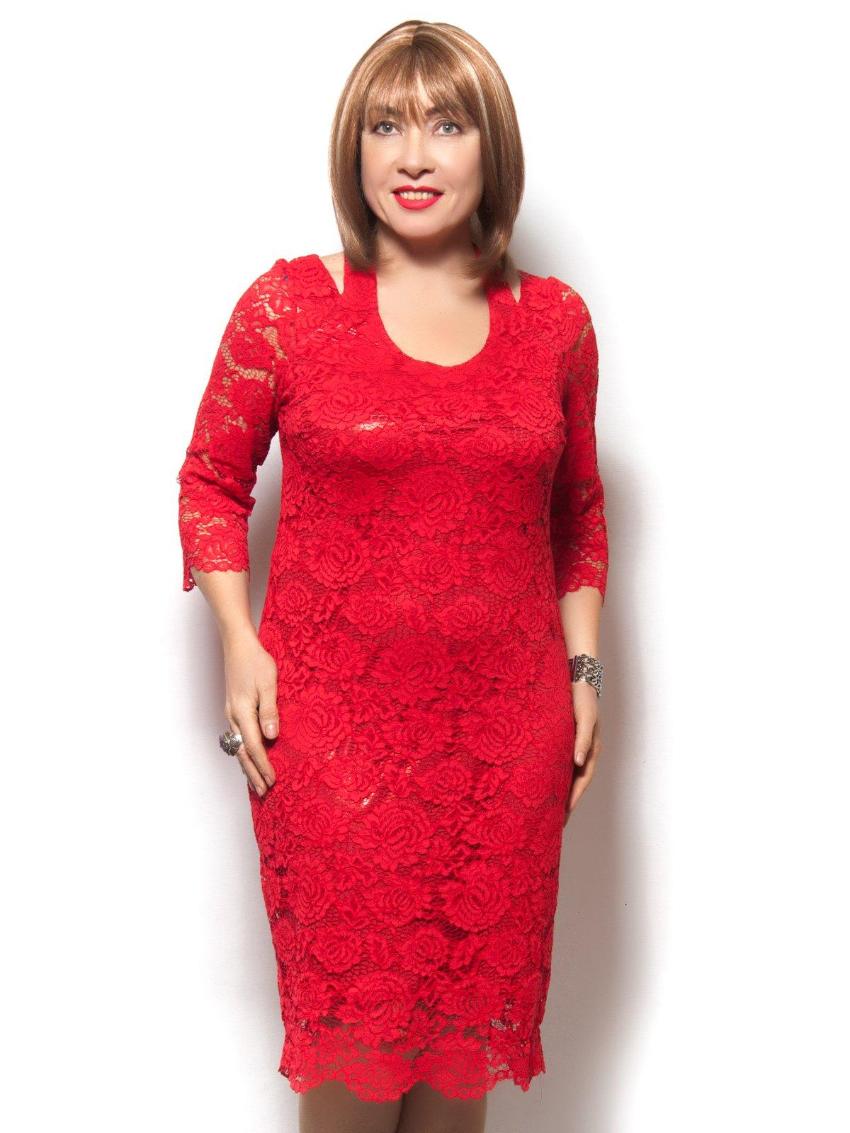 Платье красное | 3866764