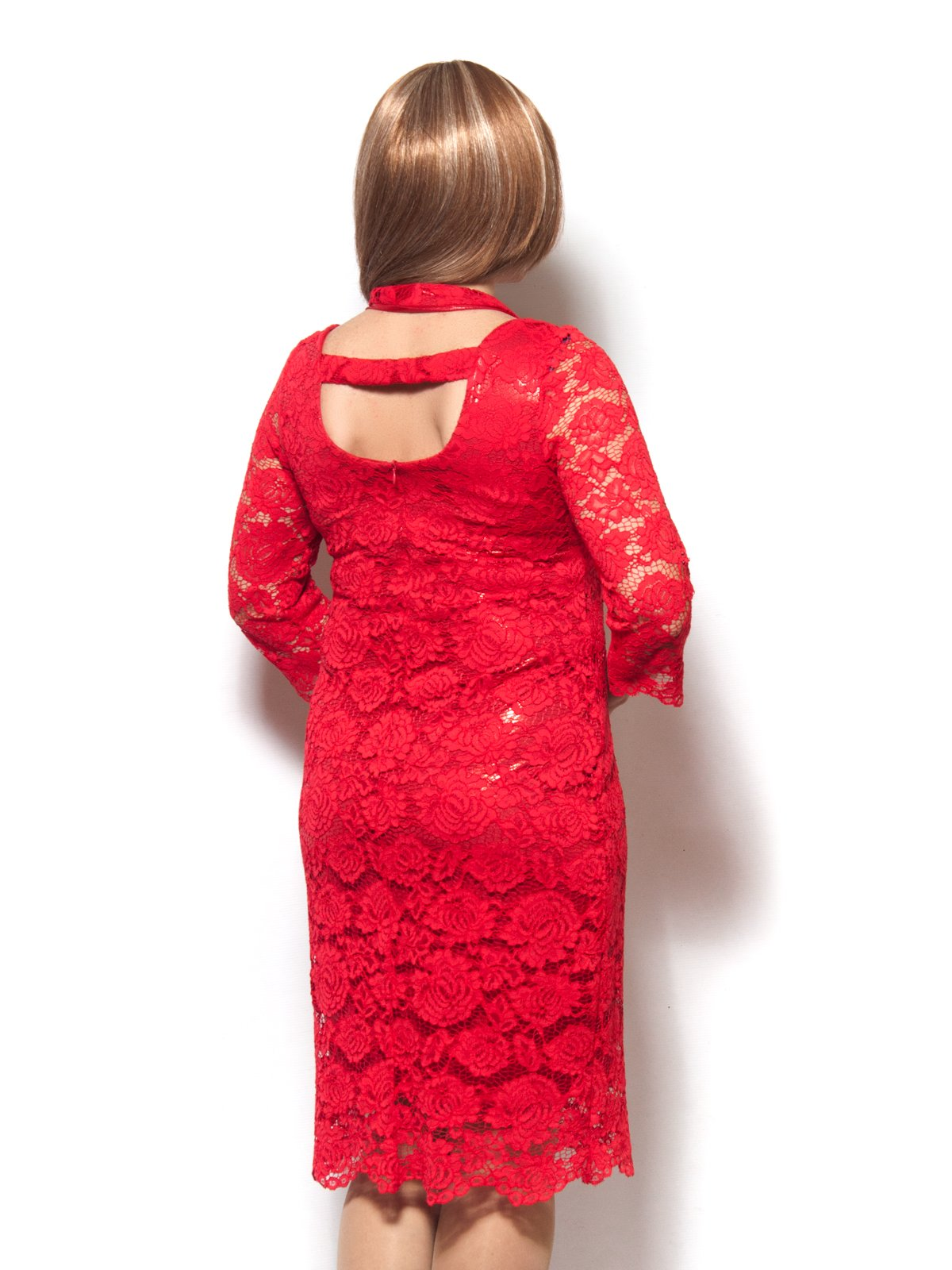 Платье красное | 3866764 | фото 2