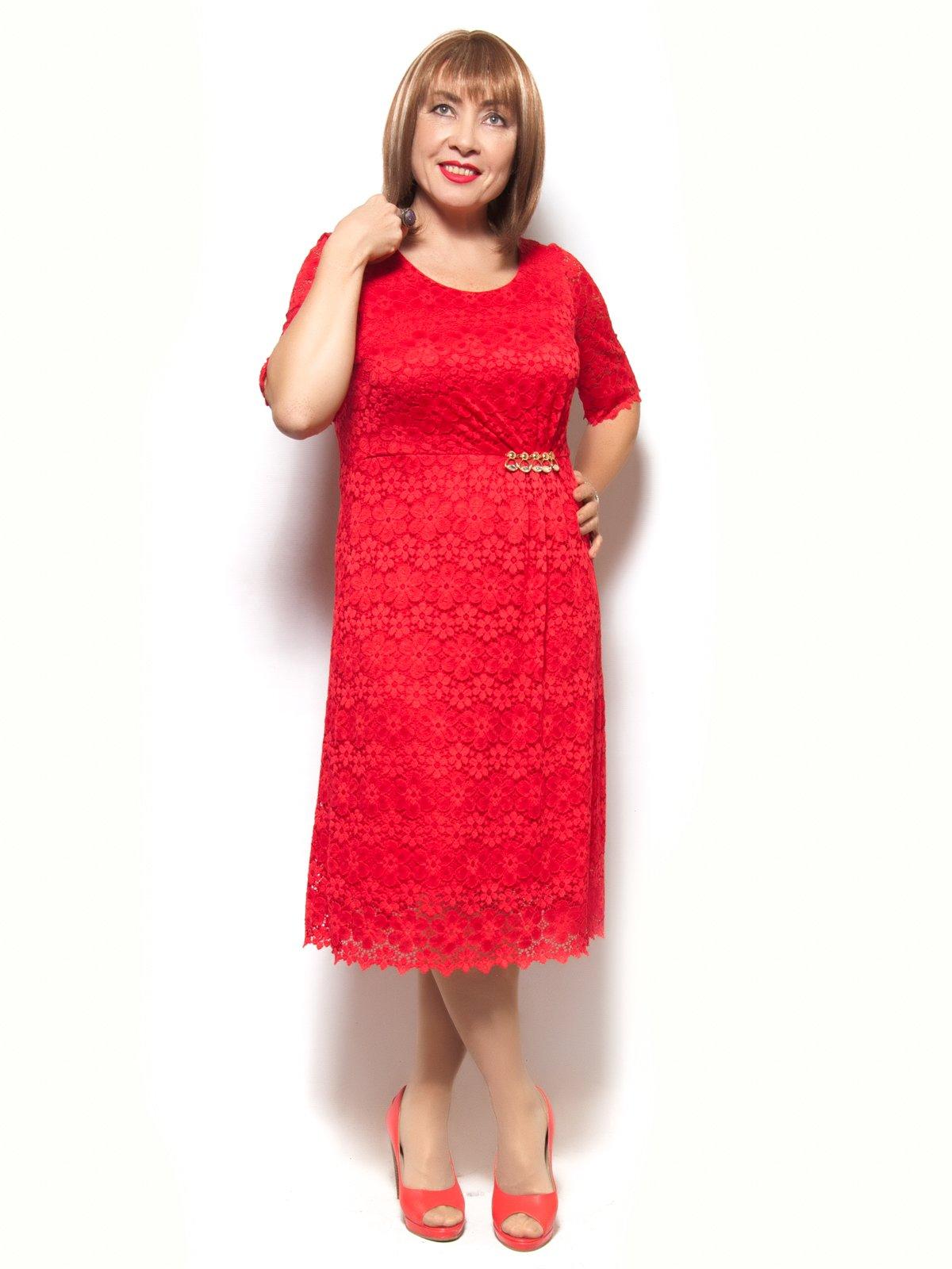Платье красное   3866769