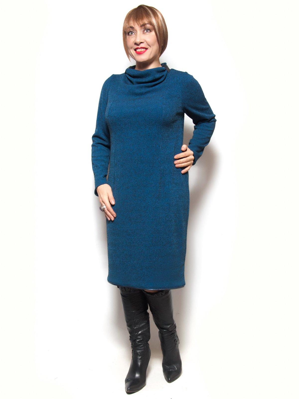 Платье синее | 3866773