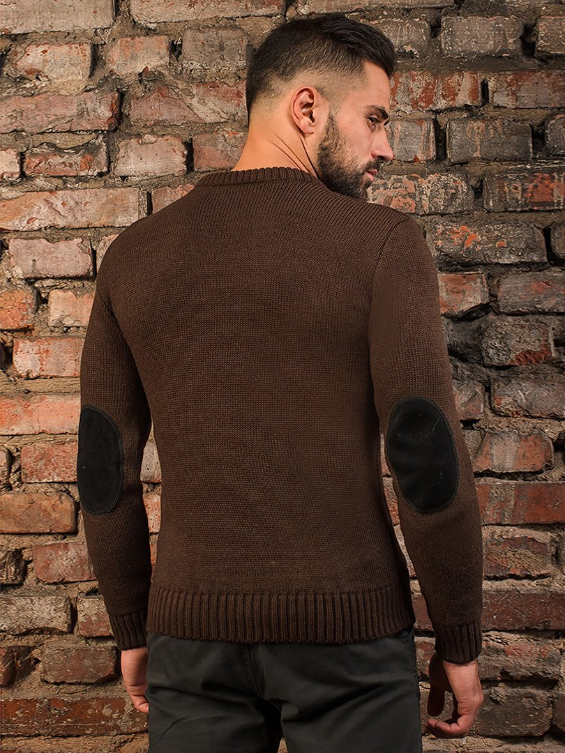 Джемпер коричневий   3866077   фото 2