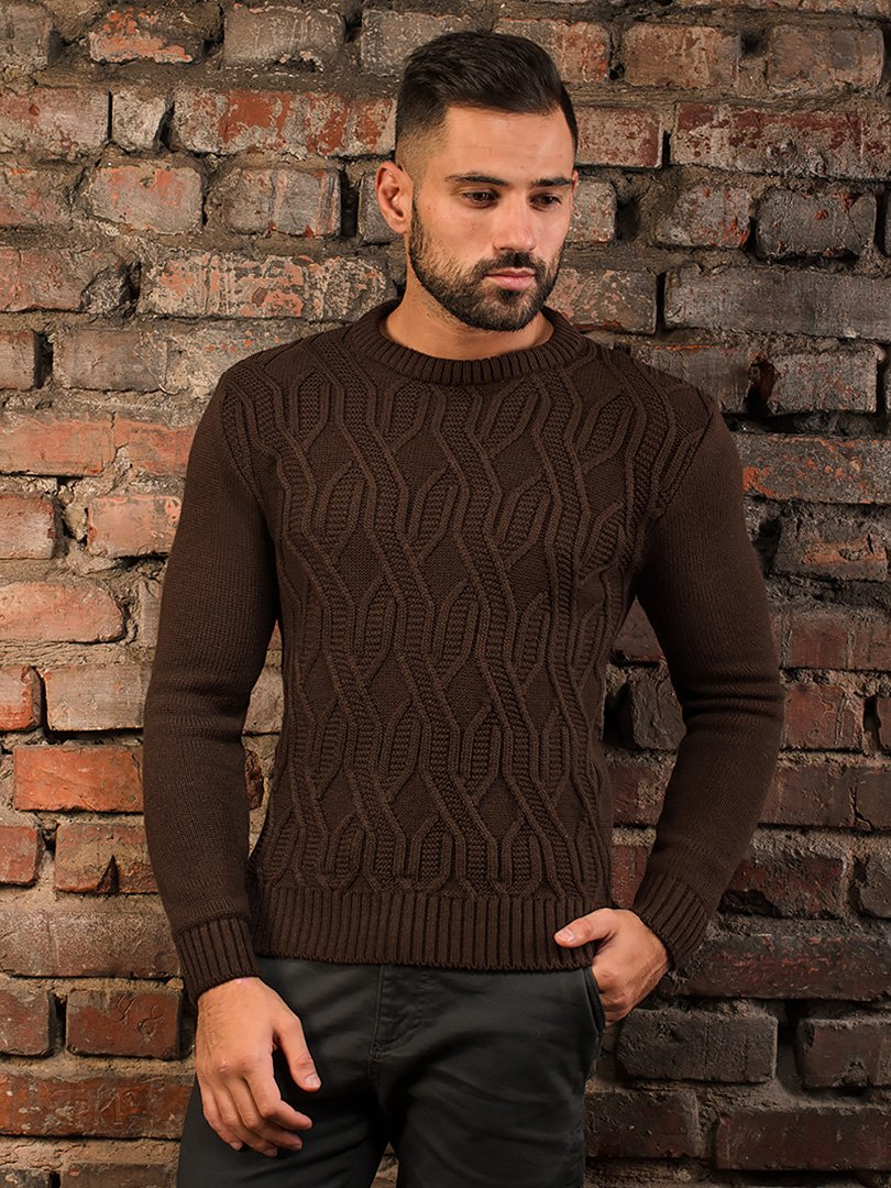 Джемпер коричневий   3866077