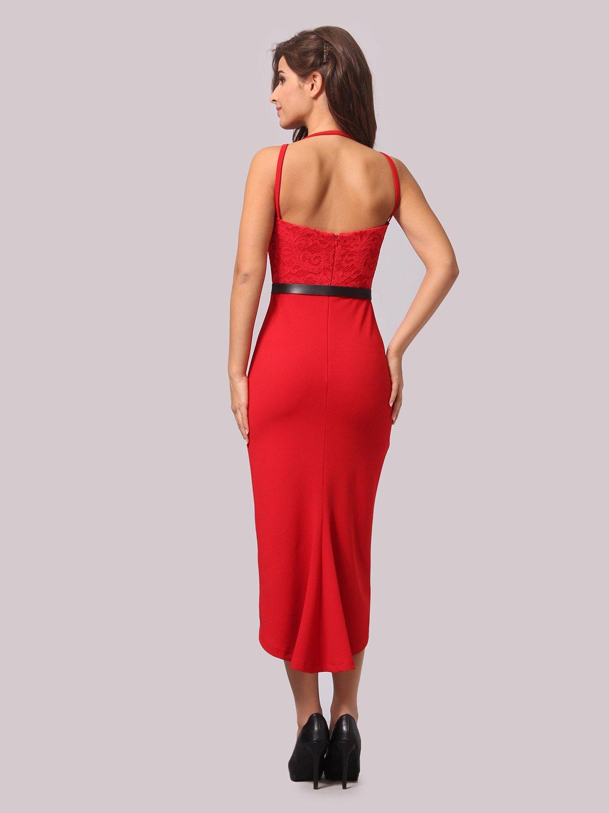 Платье красное | 3863238 | фото 4