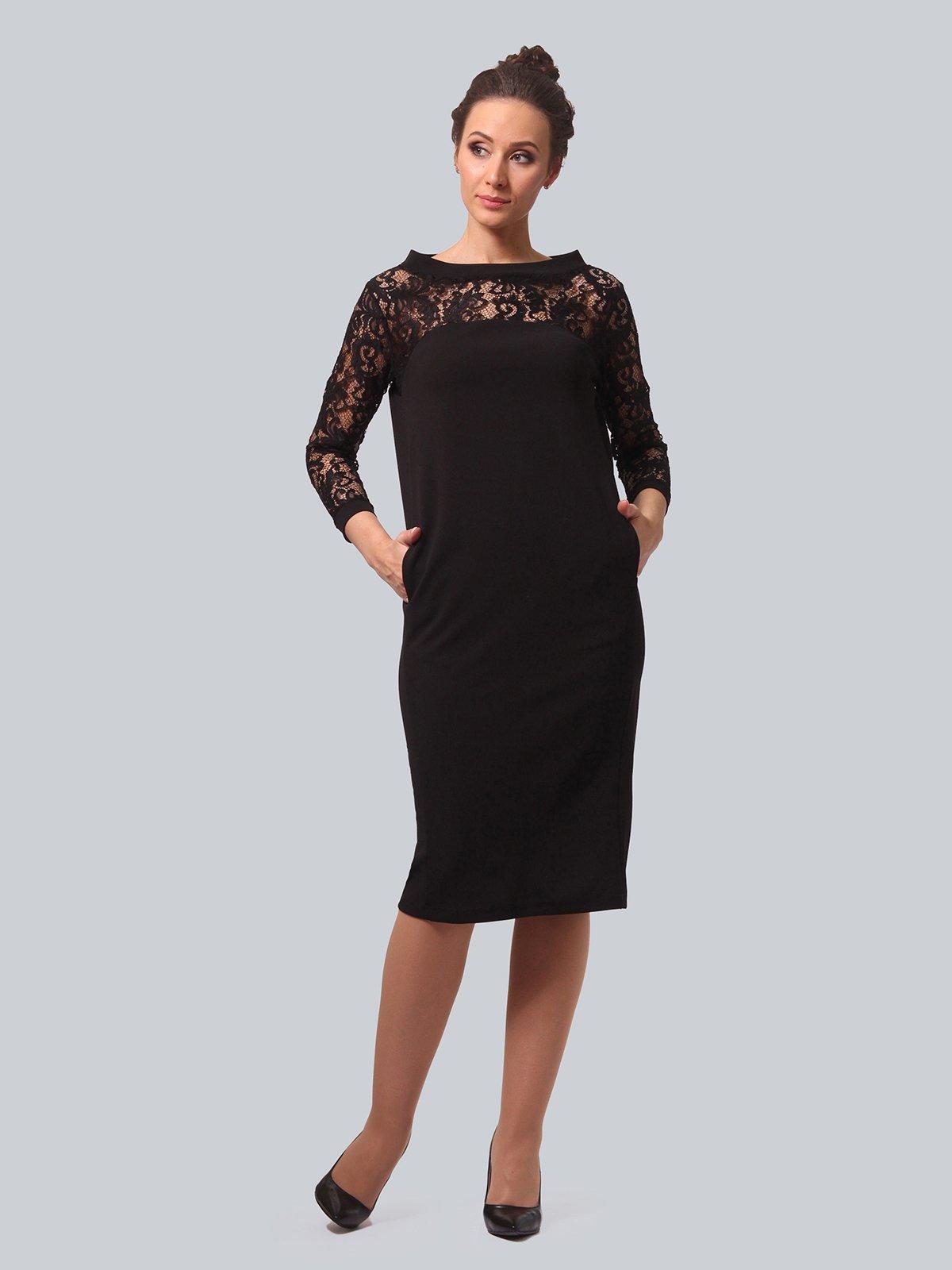 Платье черное | 3863336