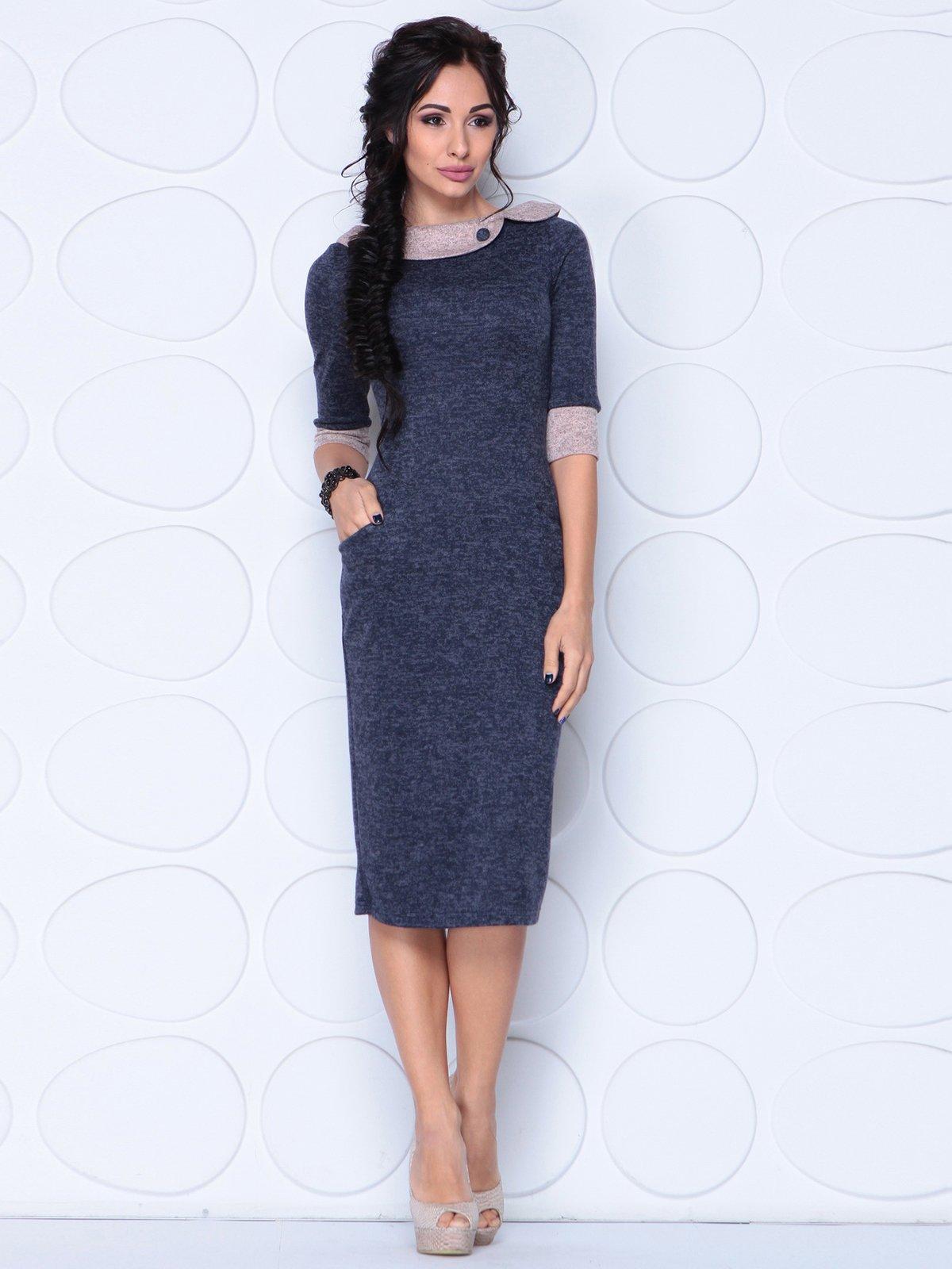 Сукня темно-синя | 3876119