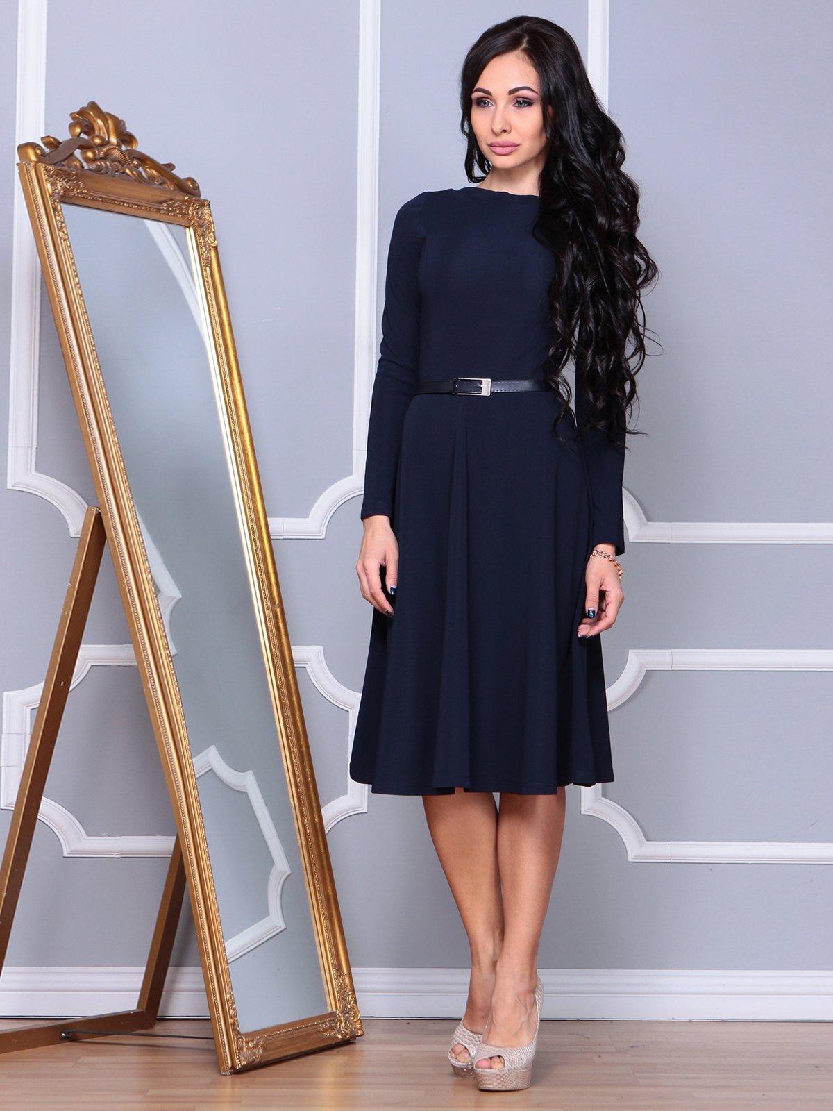 Сукня темно-синя | 3876116