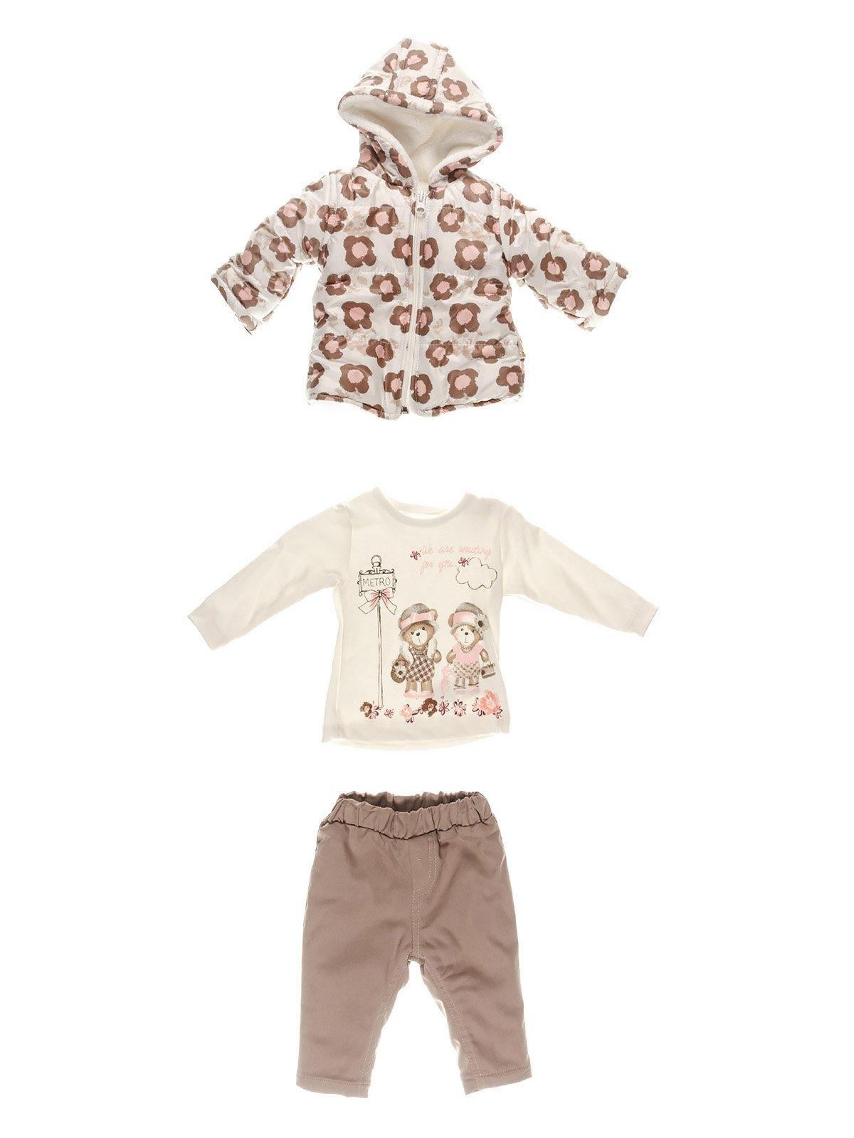 Комплект: куртка, кофта, штани   3867013