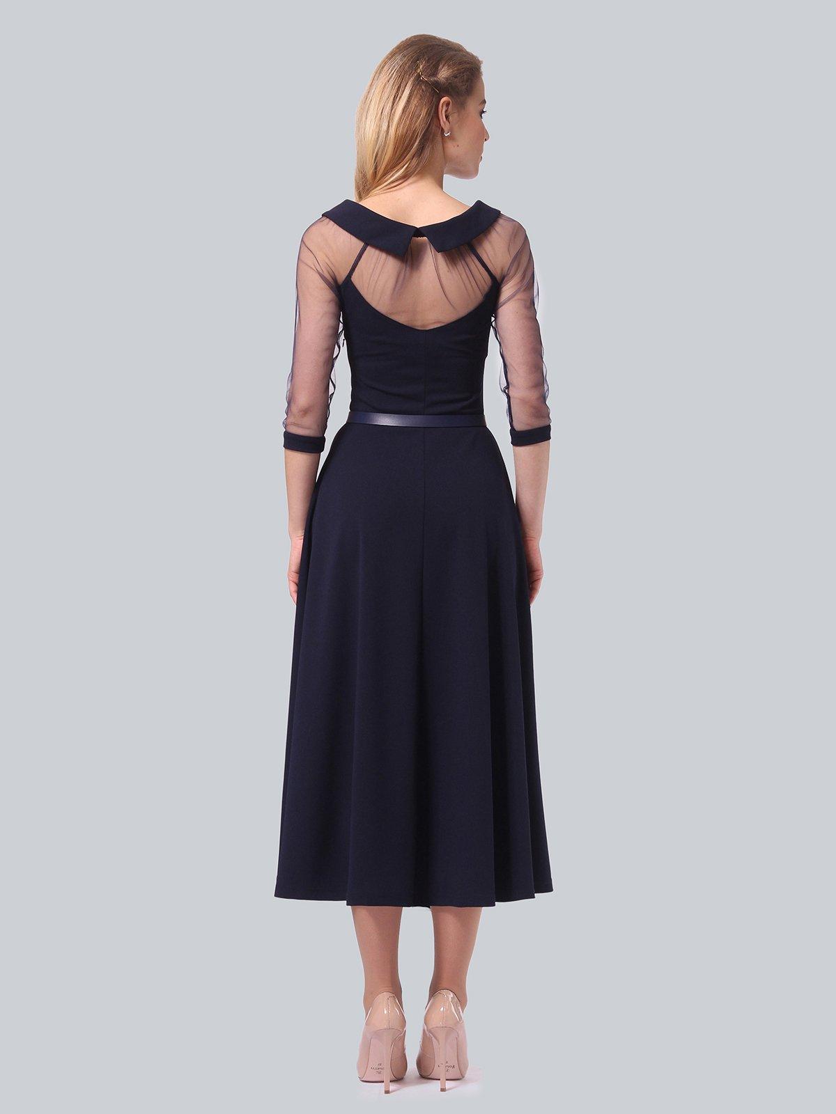 Платье темно-синее | 3879718 | фото 5
