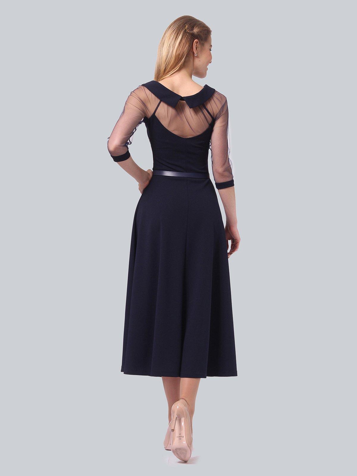 Платье темно-синее | 3879718 | фото 6