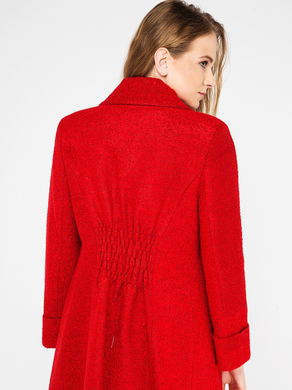 Пальто красное | 3606580 | фото 3
