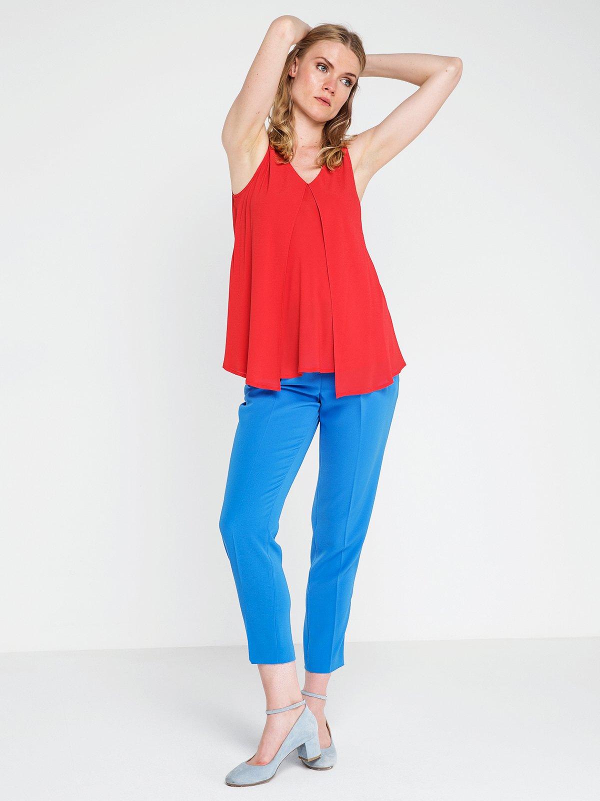 Блуза червона | 3856464