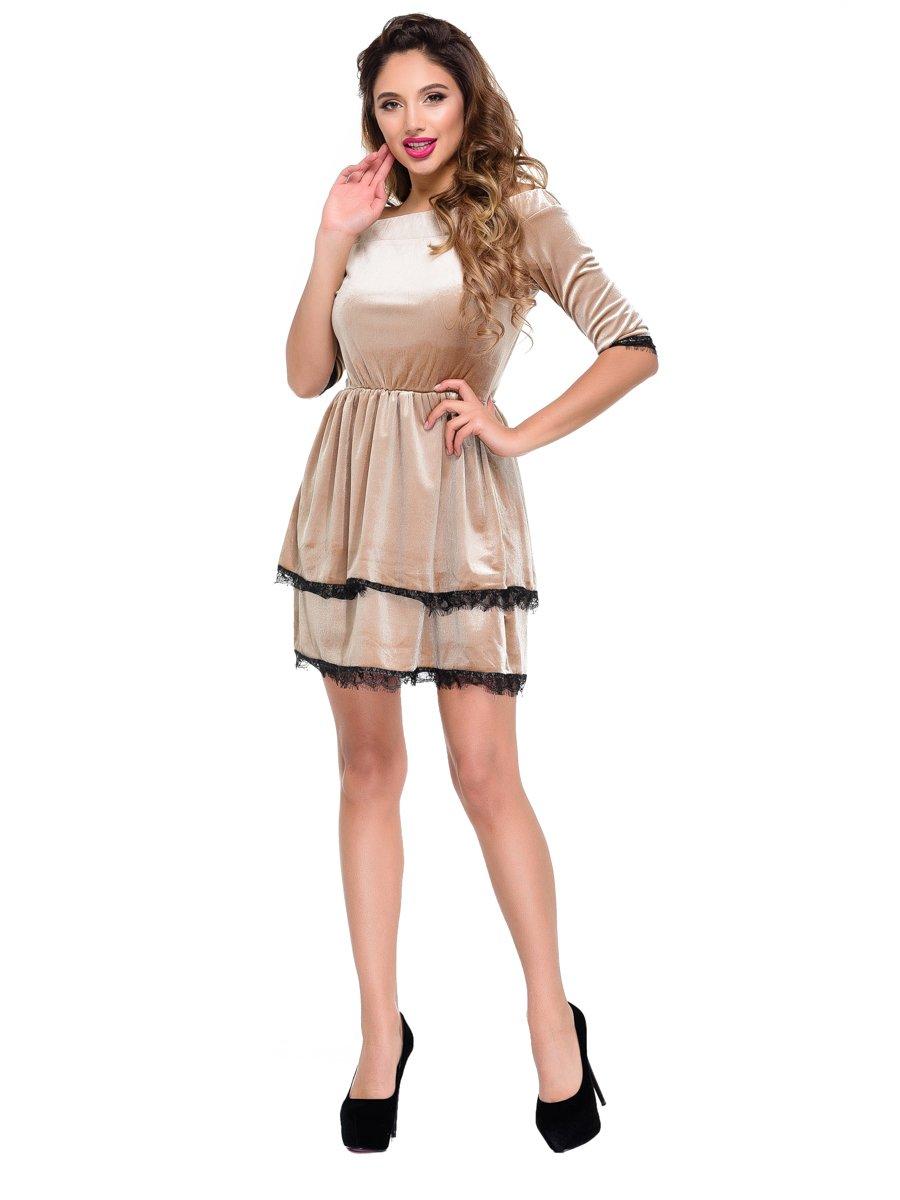 Платье коричневое | 3891258