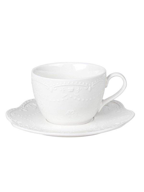 Чашка (250 мл) з блюдцем | 3891206