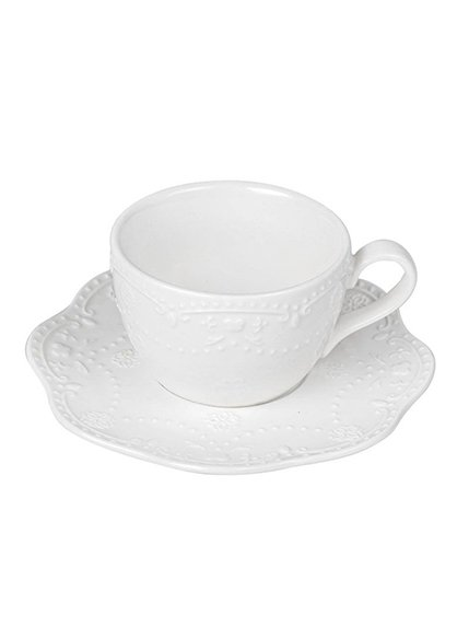 Чашка (120 мл) з блюдцем | 3891209