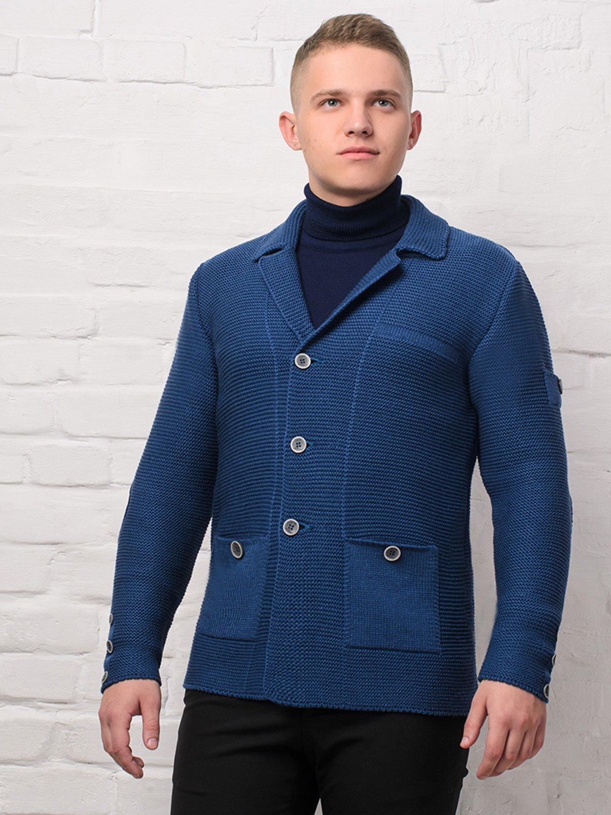 Піджак синій | 3892339 | фото 3