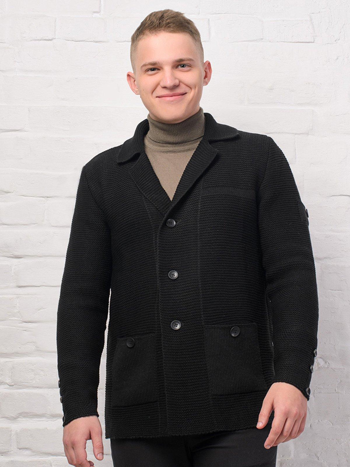 Пиджак черный   3892343