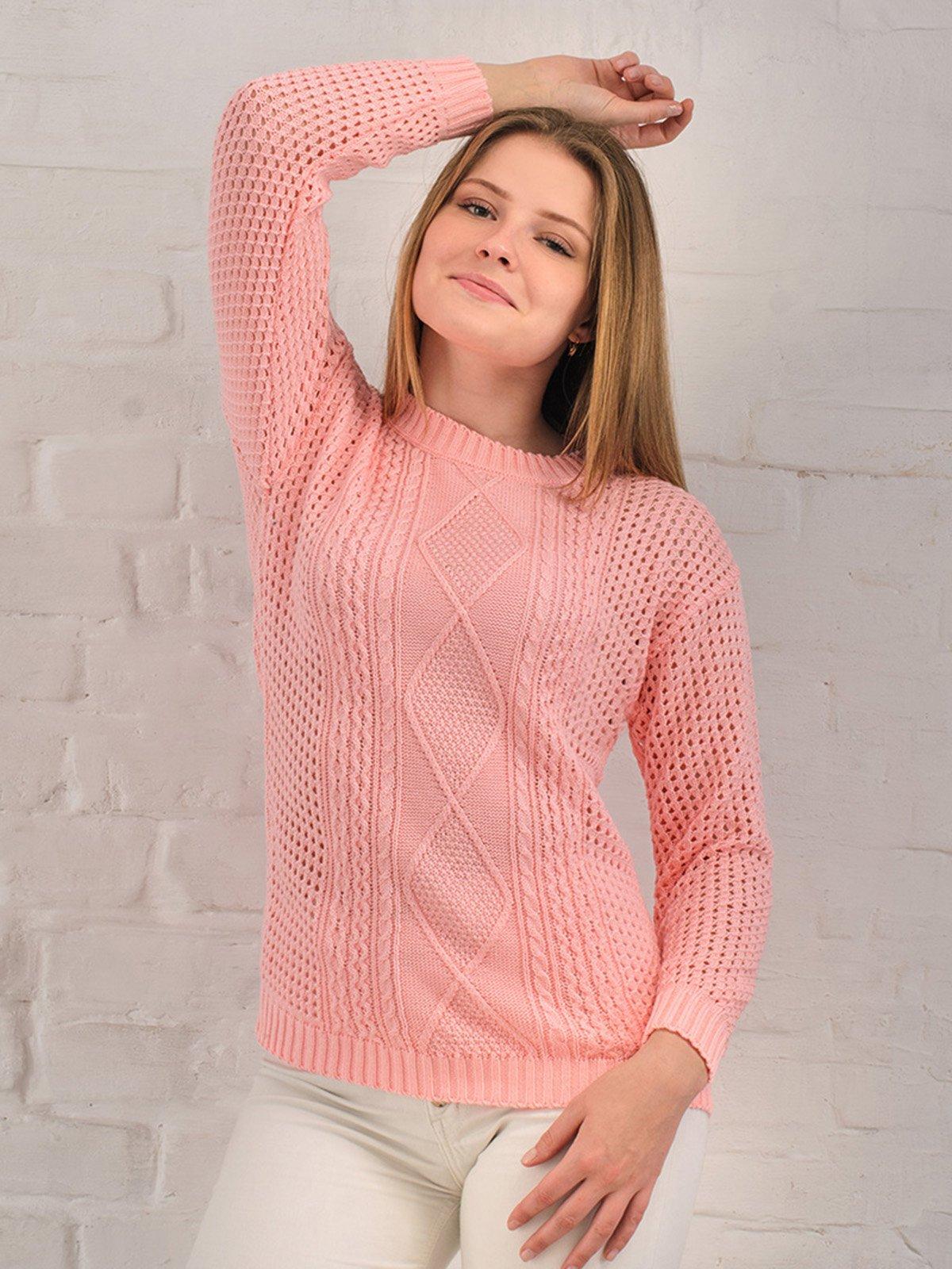 Джемпер розовый | 3892350
