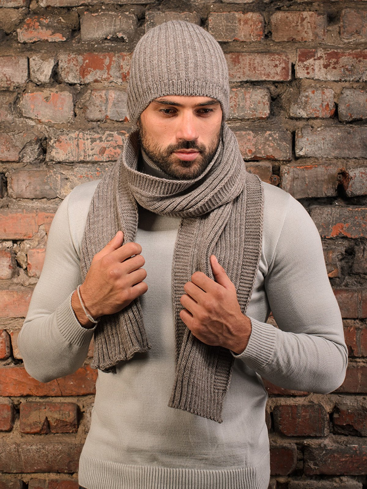 Комплект: шапка и шарф | 3892443