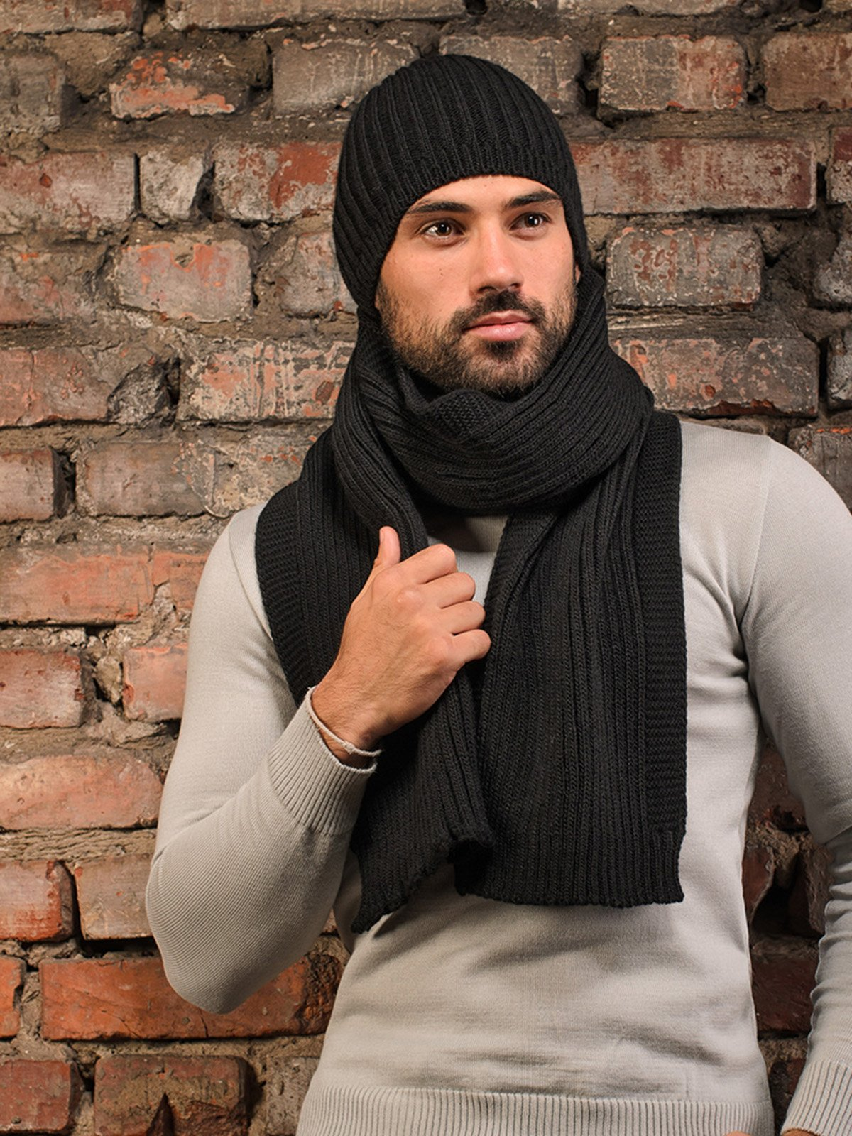 Комплект: шапка і шарф | 3892445