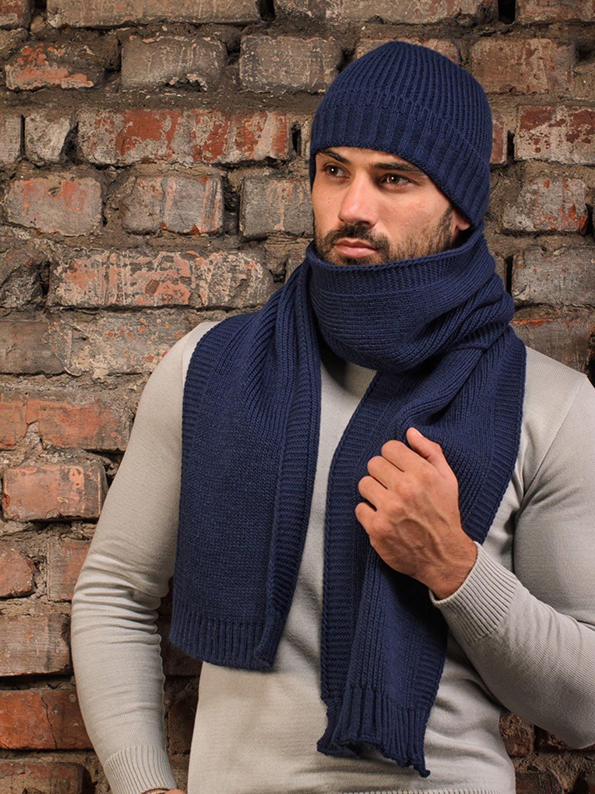 Комплект: шапка и шарф | 3892456