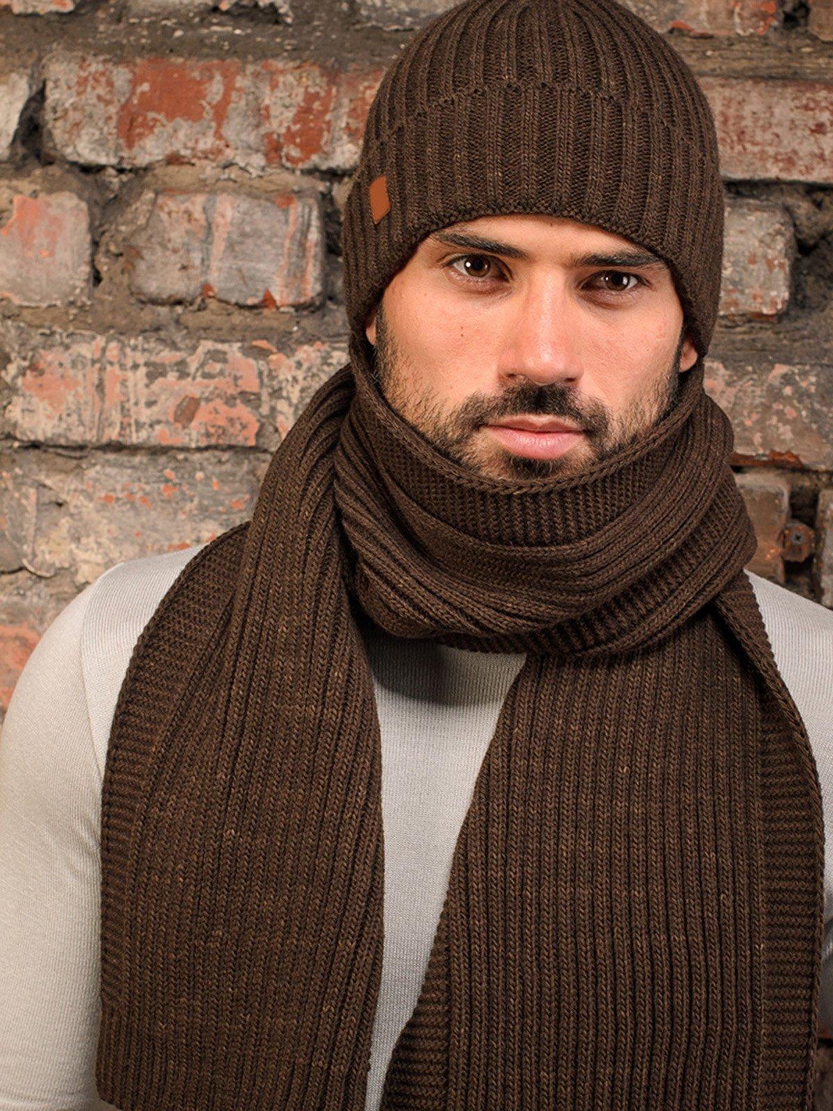 Комплект: шапка и шарф | 3892476