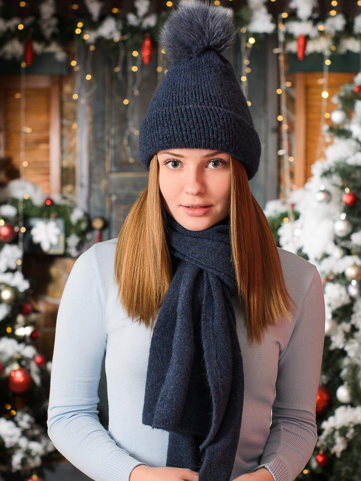 Комплект: шапка і шарф | 3892498