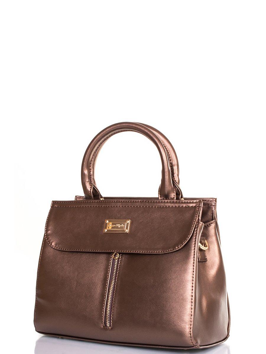 Сумка бронзово-коричнева | 3895601