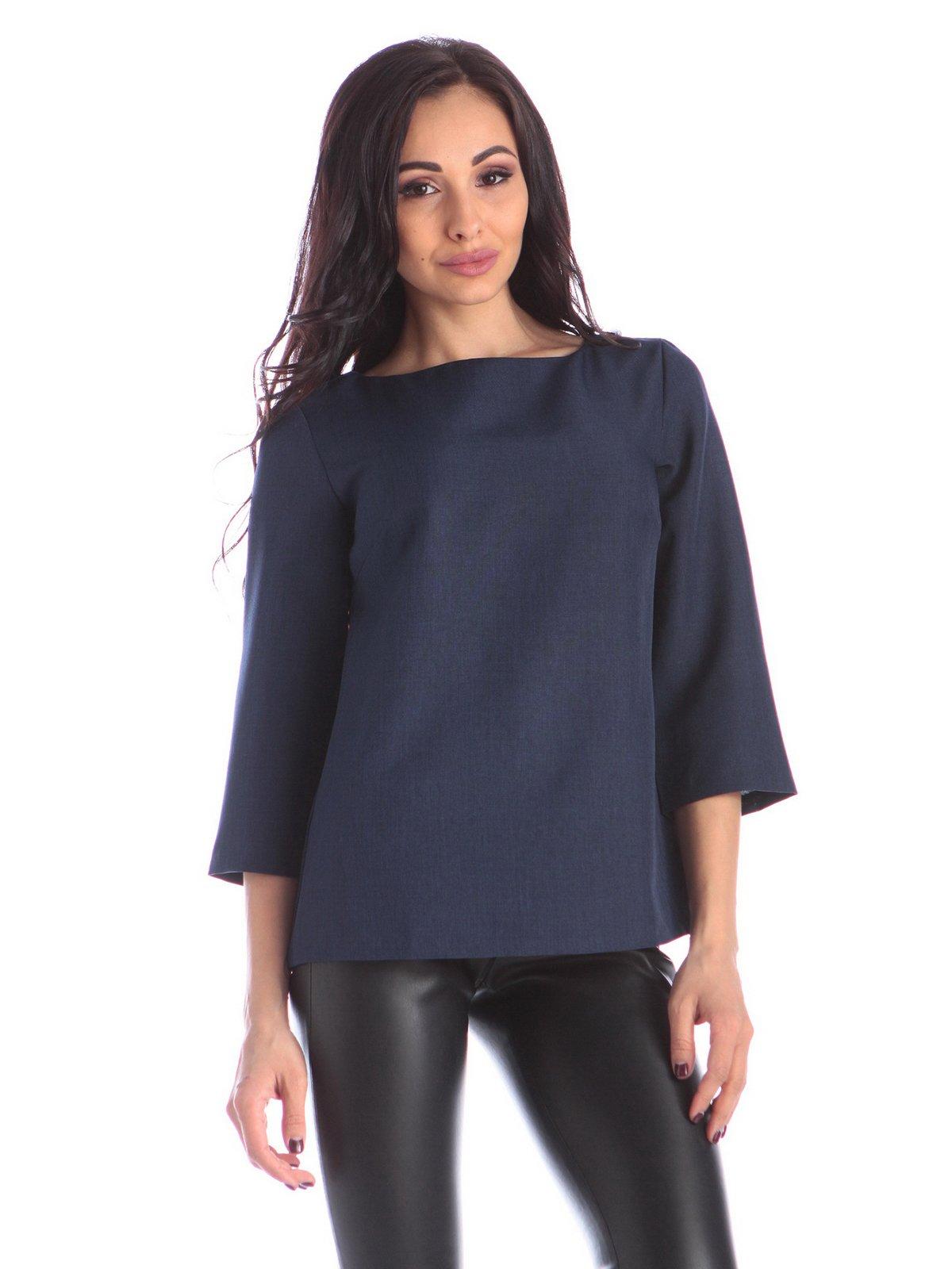 Блуза синя | 3895642