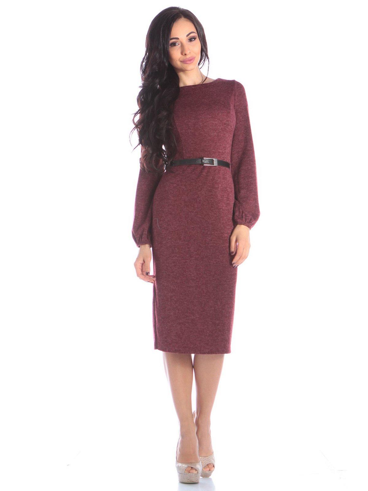Платье бордовое | 3895665