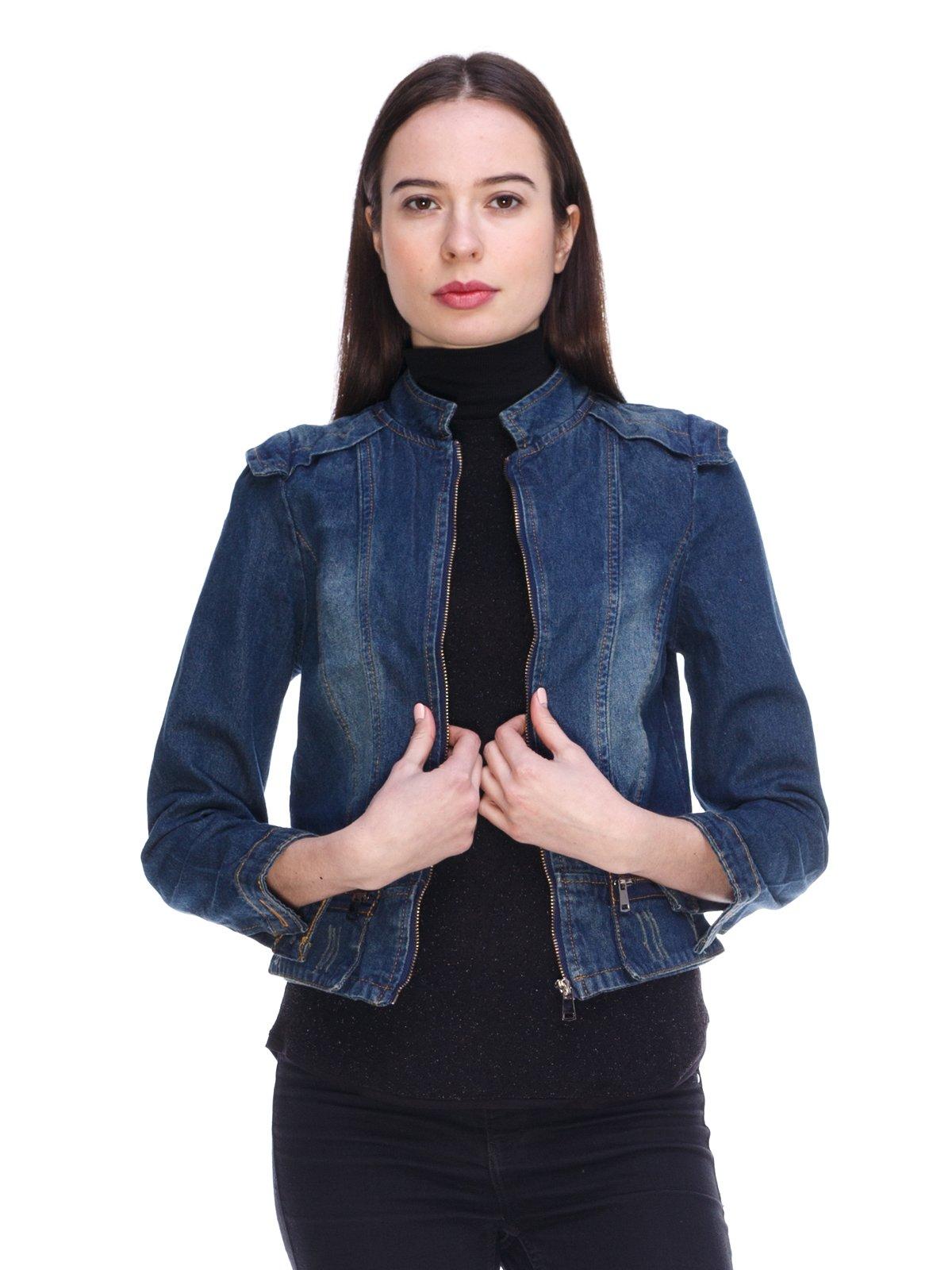 Куртка синя джинсова | 3897725