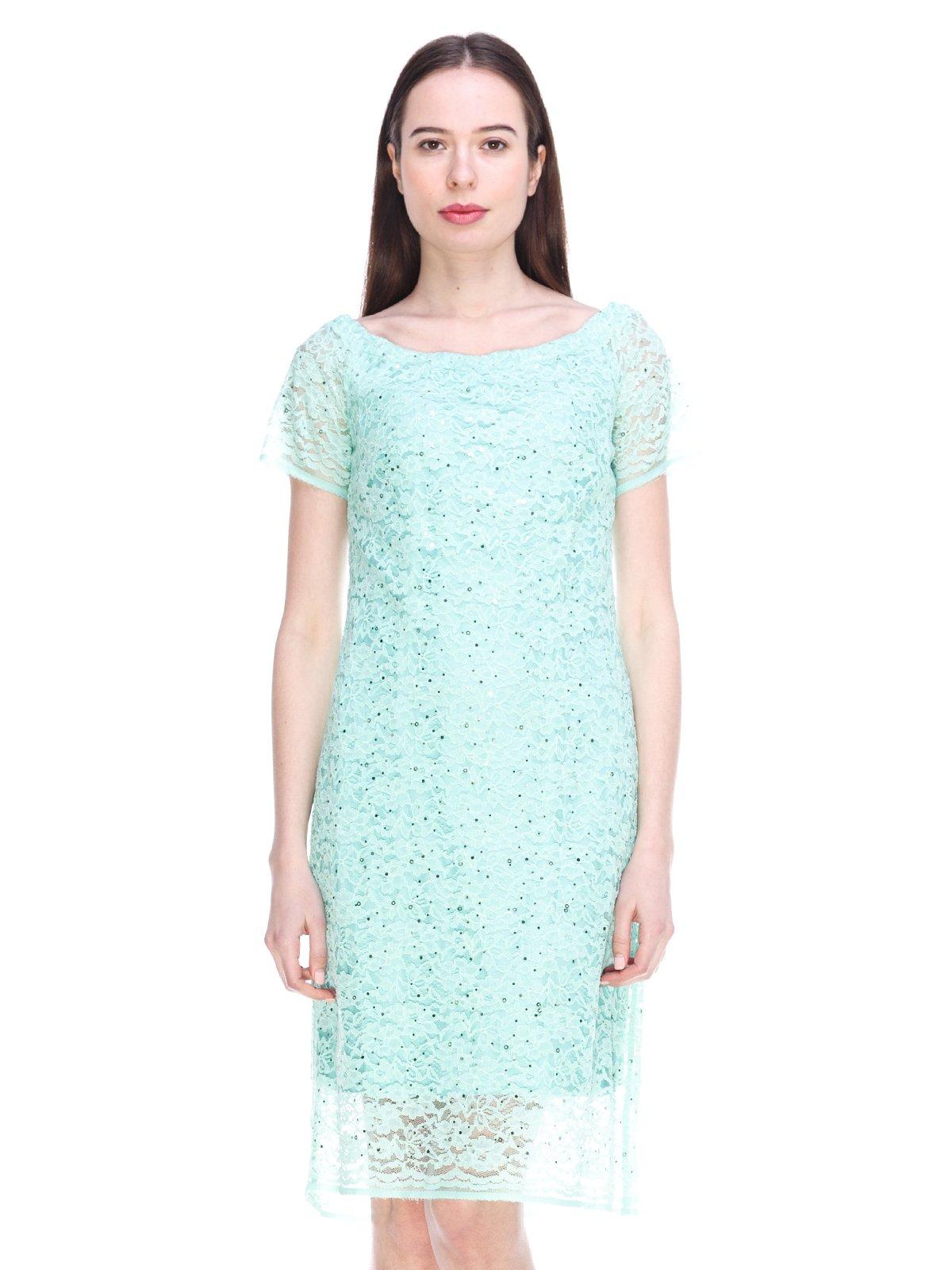 Сукня м'ятного кольору | 3897685