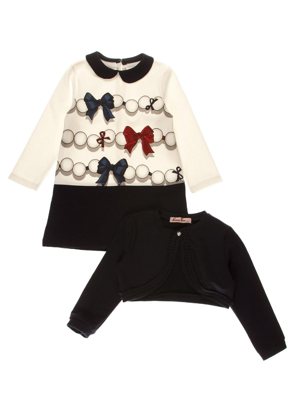 Комплект: сукня і болеро | 3892953