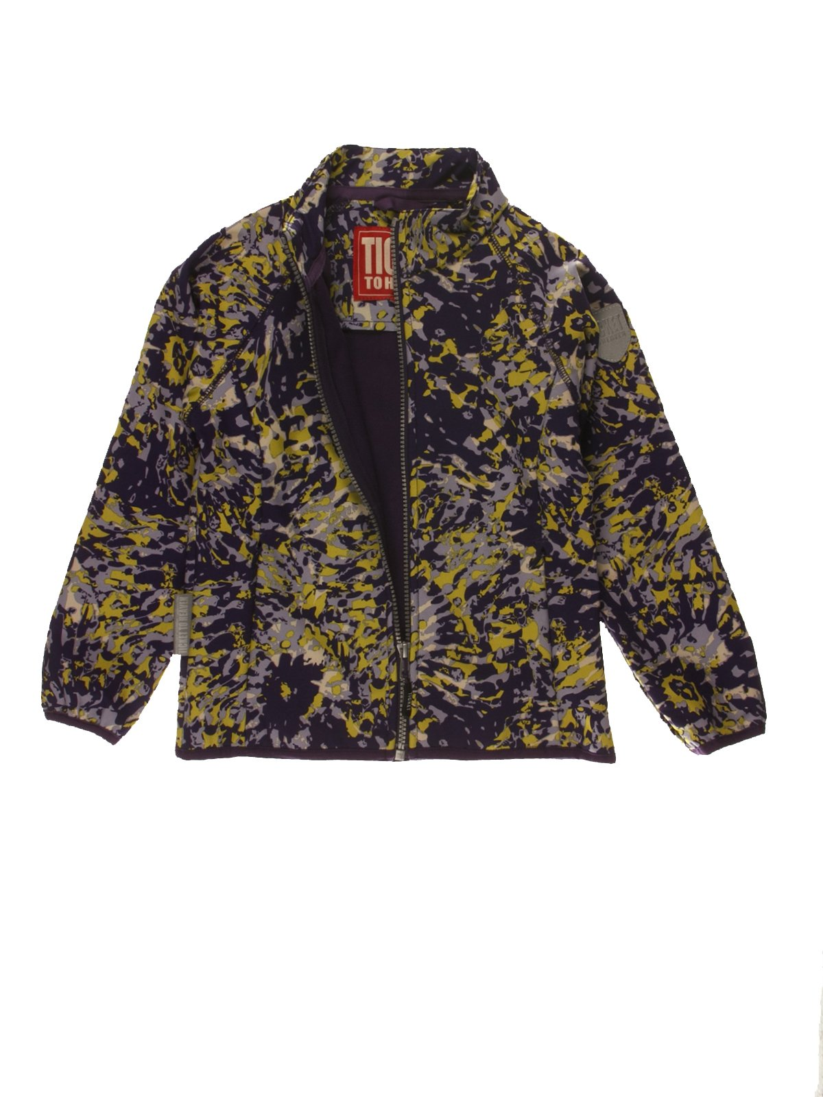 Термокуртка в абстрактний принт | 3879054 | фото 2