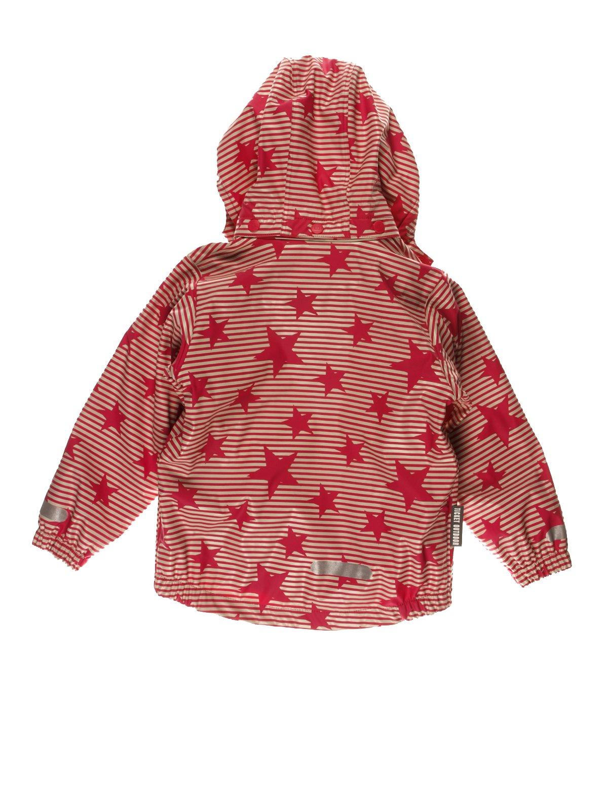 Термокуртка красная в полоску и звезды | 3878996 | фото 2