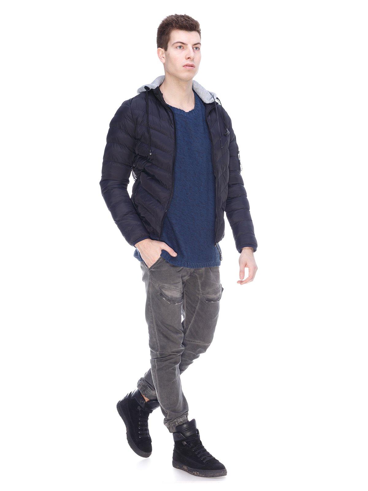 Куртка черная | 3897716 | фото 4