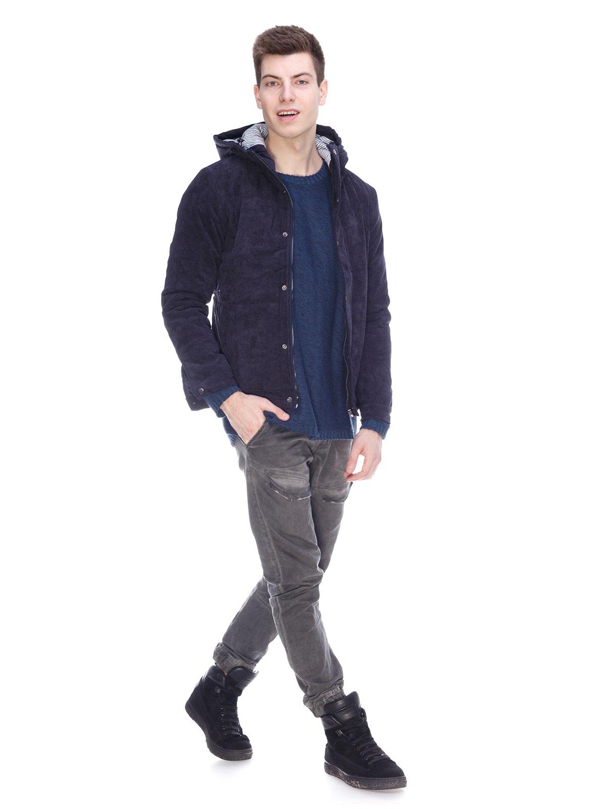 Куртка синяя | 3897729 | фото 4