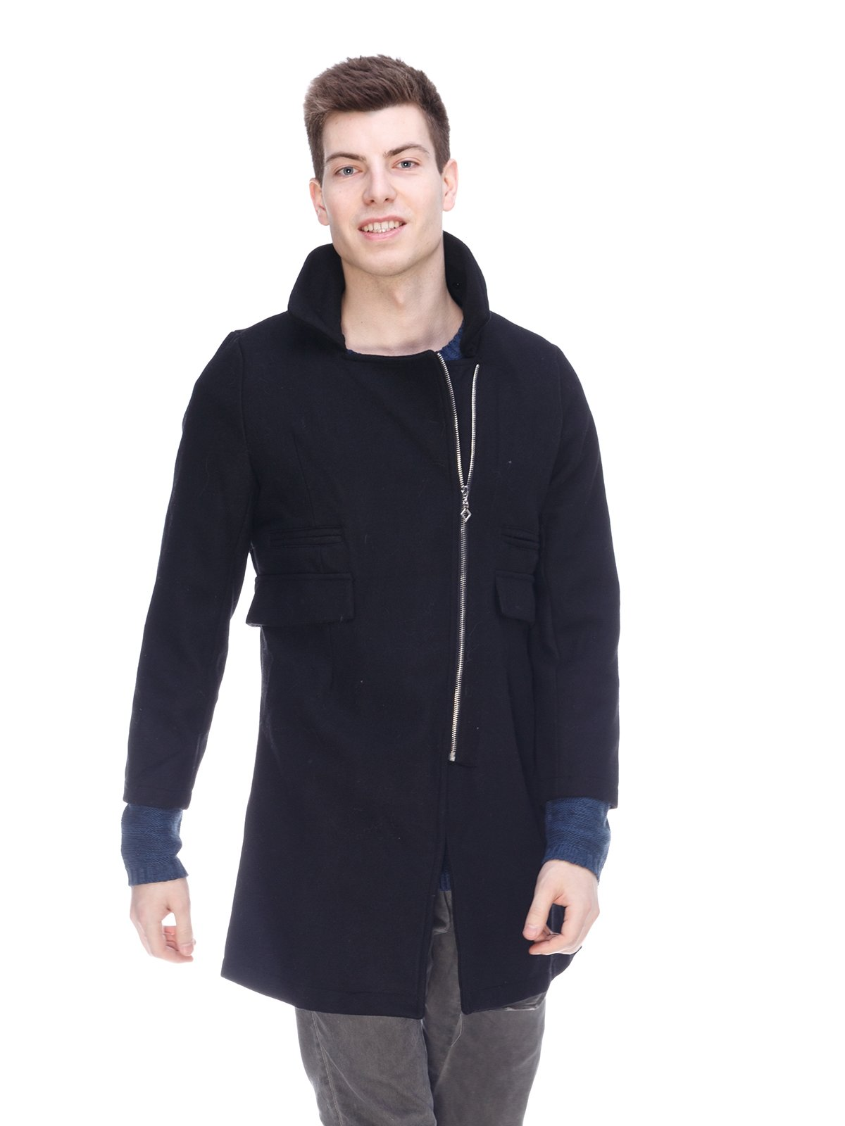 Пальто чорне | 3897710