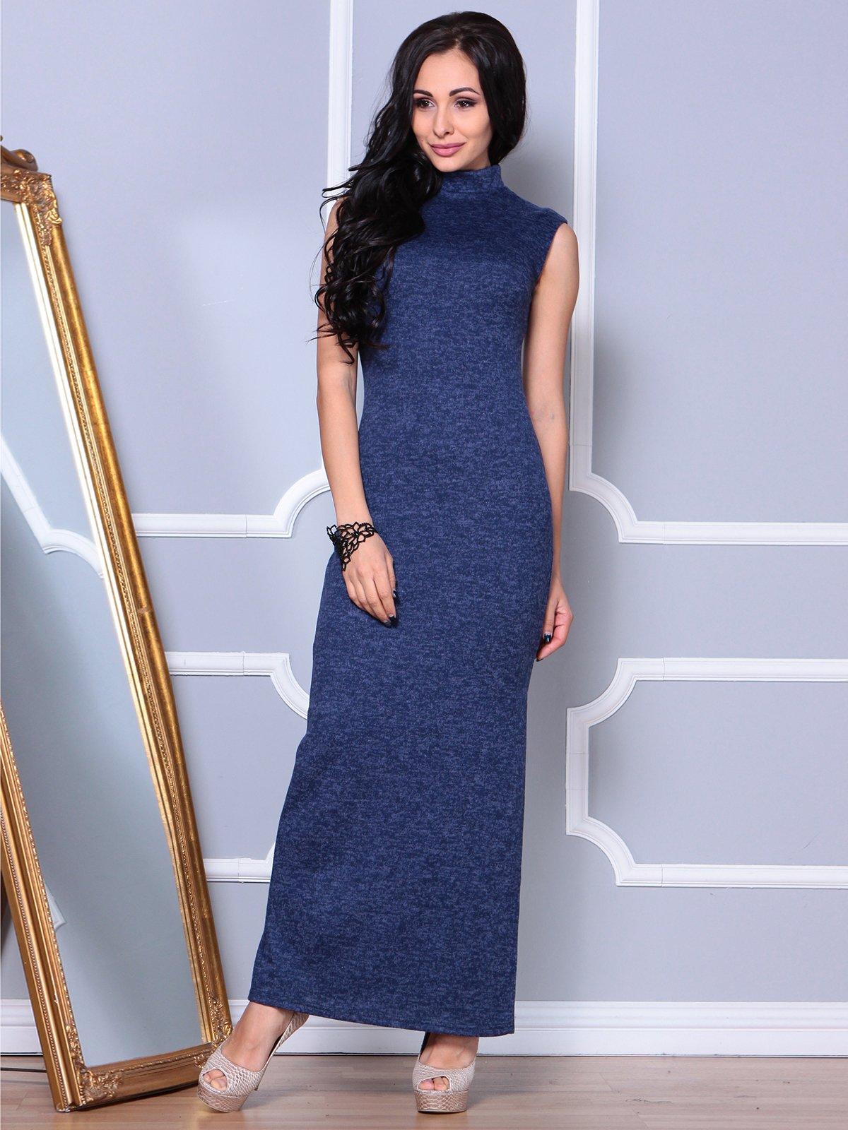 Платье синее | 3901266