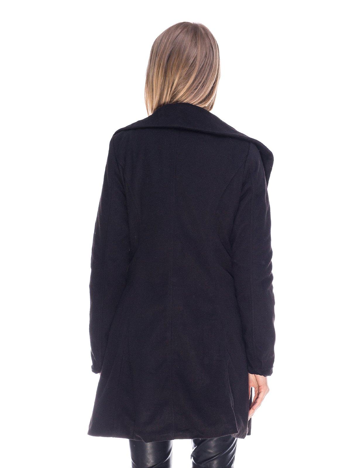 Пальто черное   3764874   фото 2