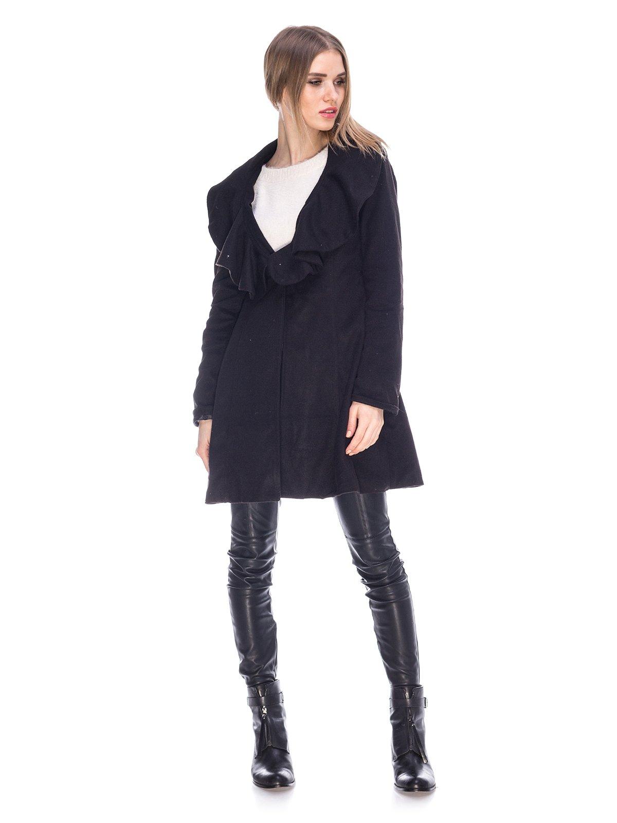 Пальто черное   3764874   фото 4