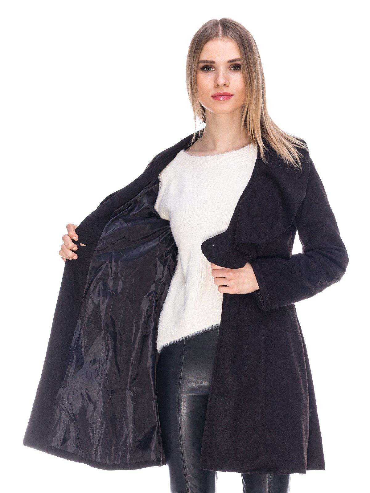 Пальто черное   3764874   фото 5