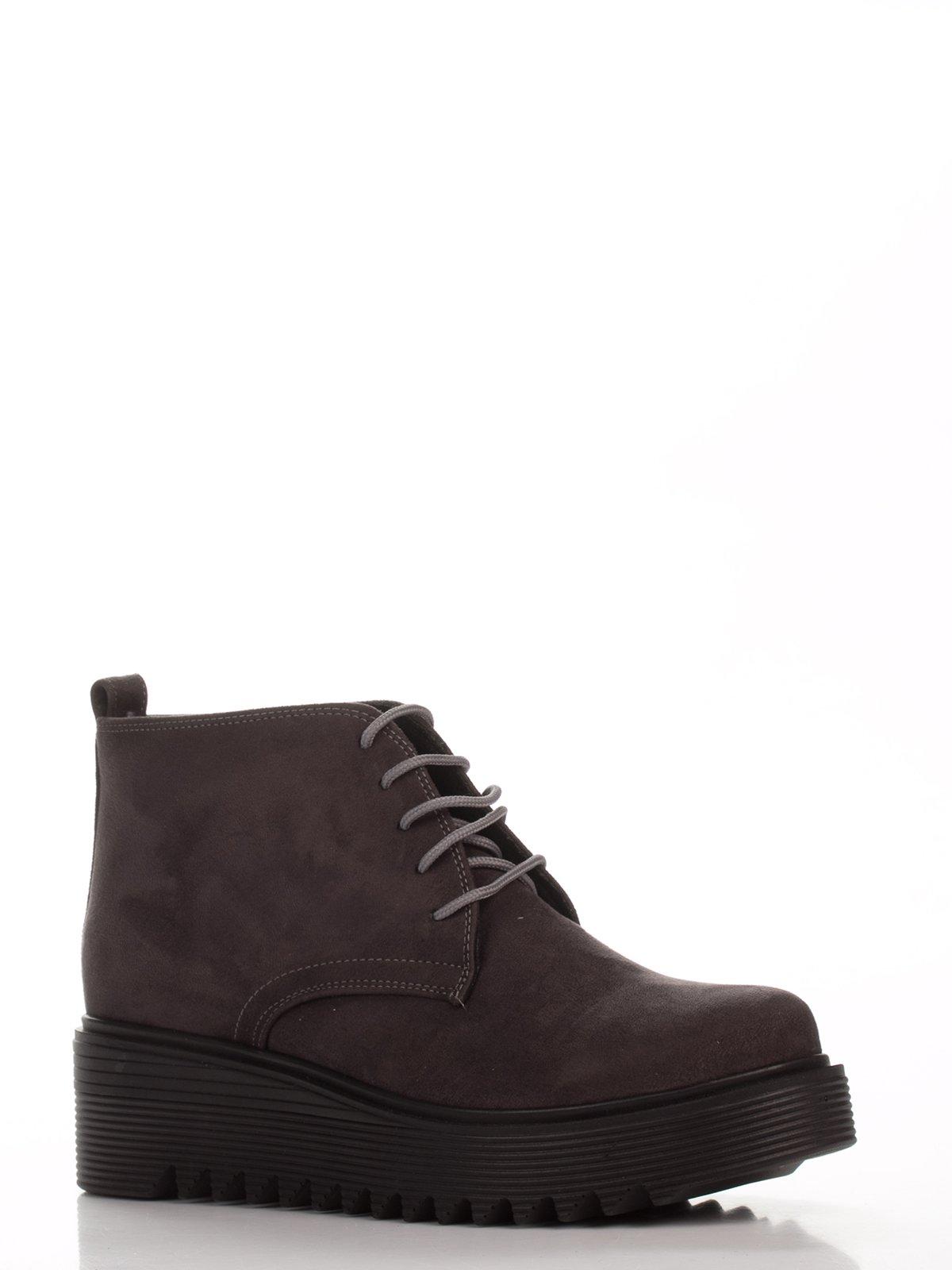 Ботинки темно-серые | 3772869