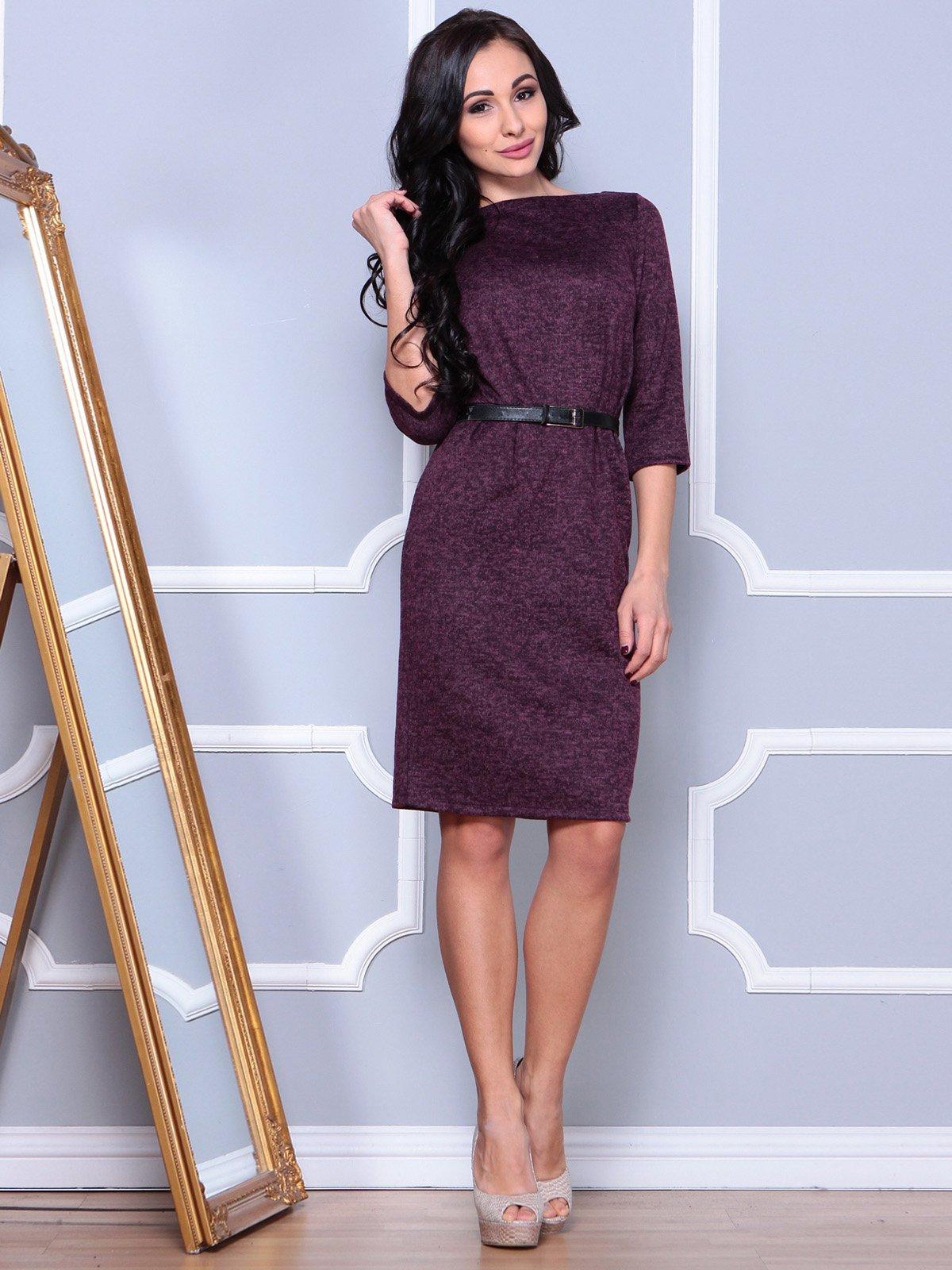 Платье цвета марсала | 3904093