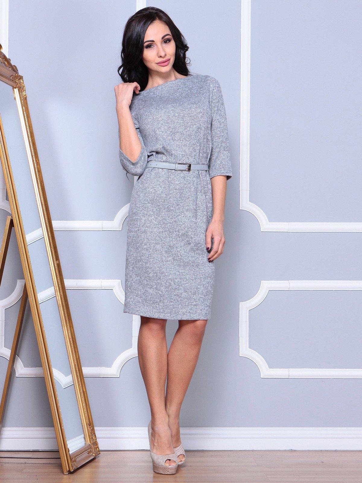 Платье серое | 3904094