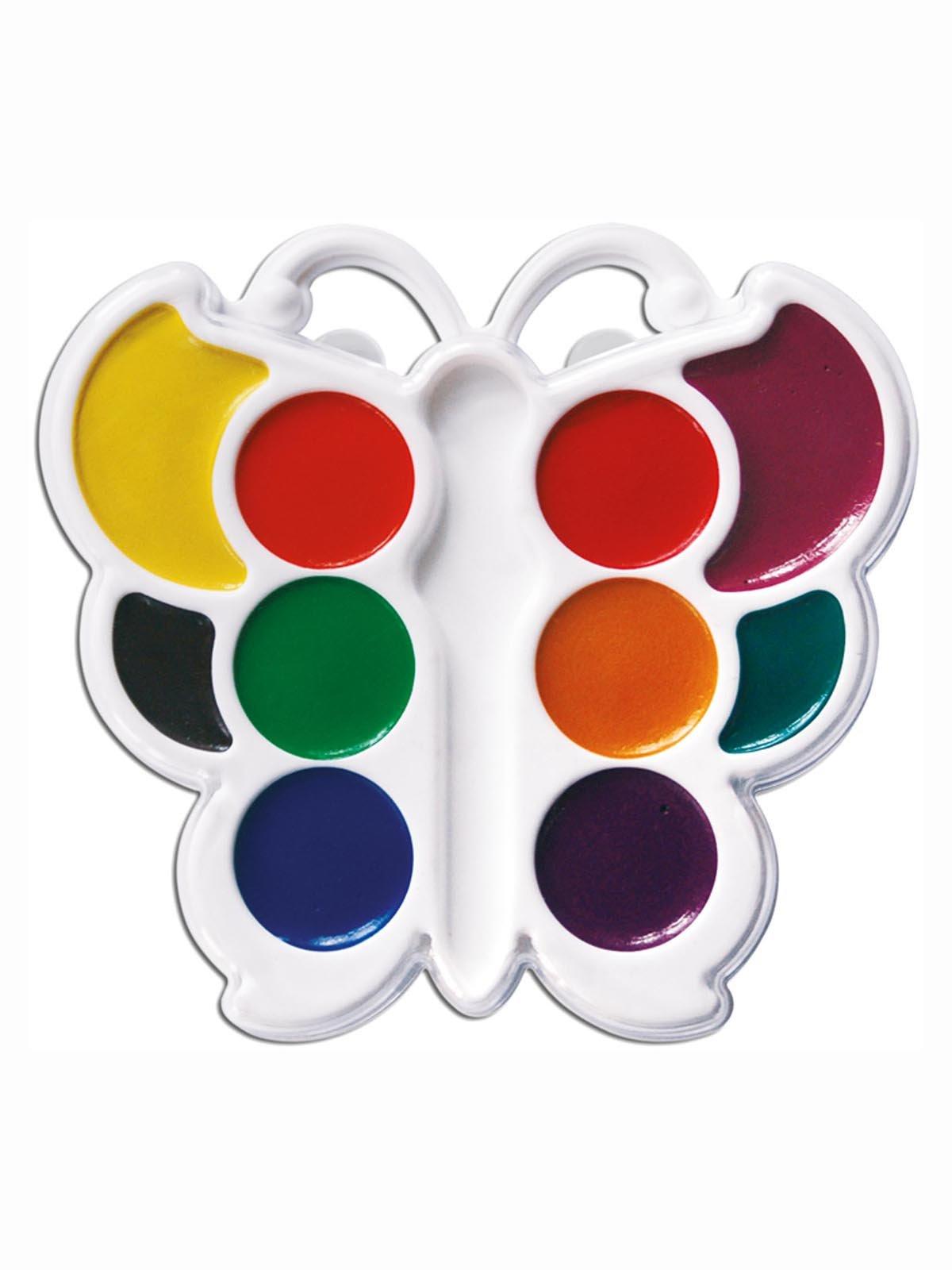 Фарби акварельні «Метелик» (10 кольорів) | 3906643