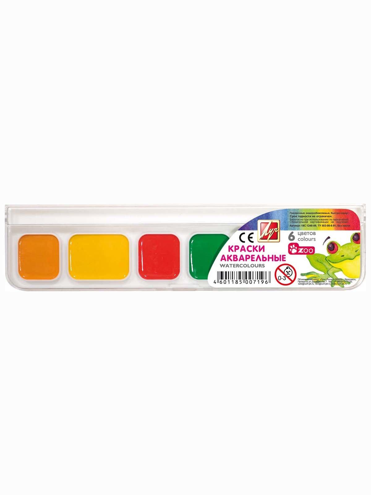 Фарби акварельні «Міні» (6 кольорів) | 3906645