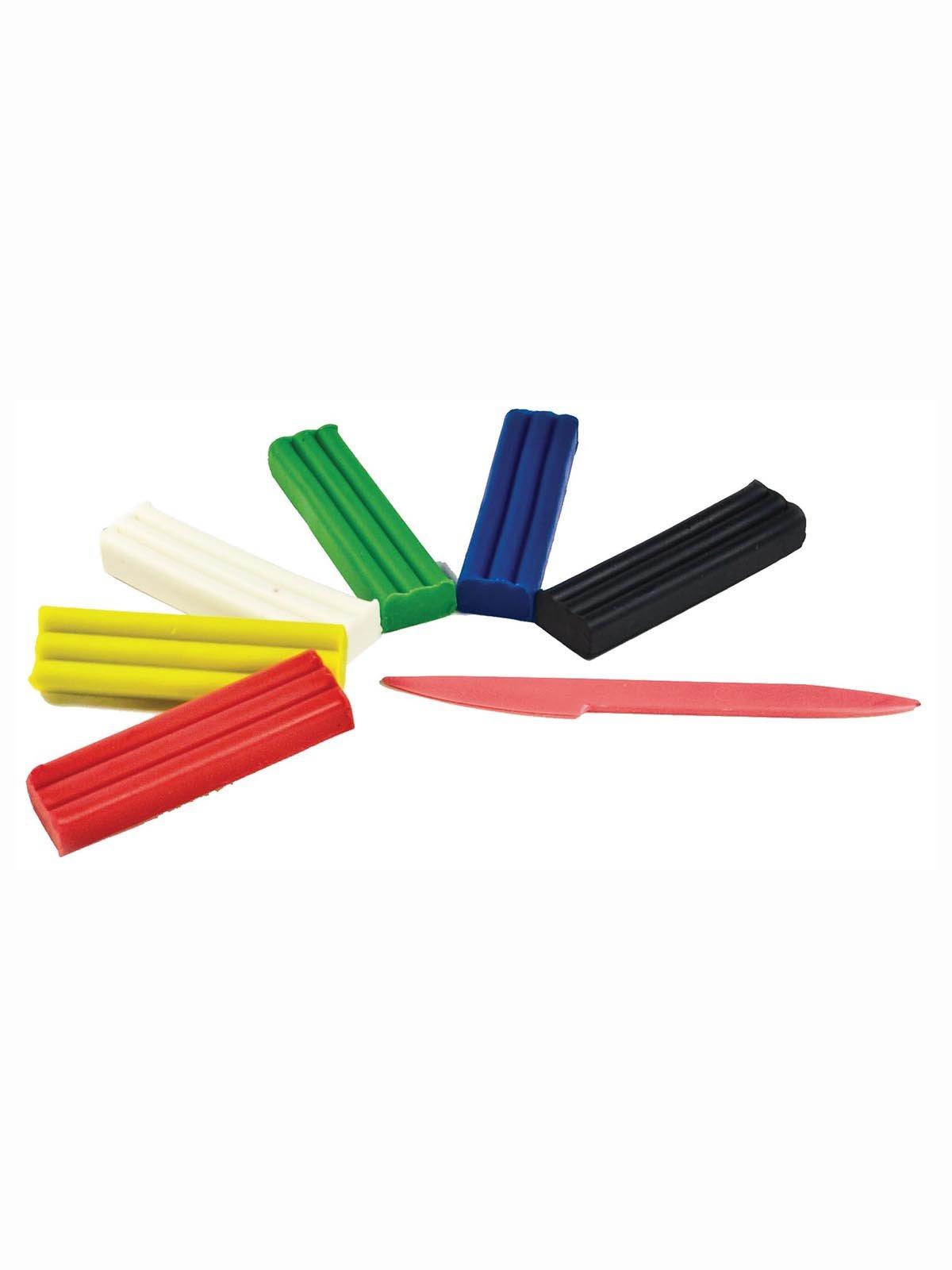 Пластилін м'який (6 кольорів) | 3906668 | фото 2