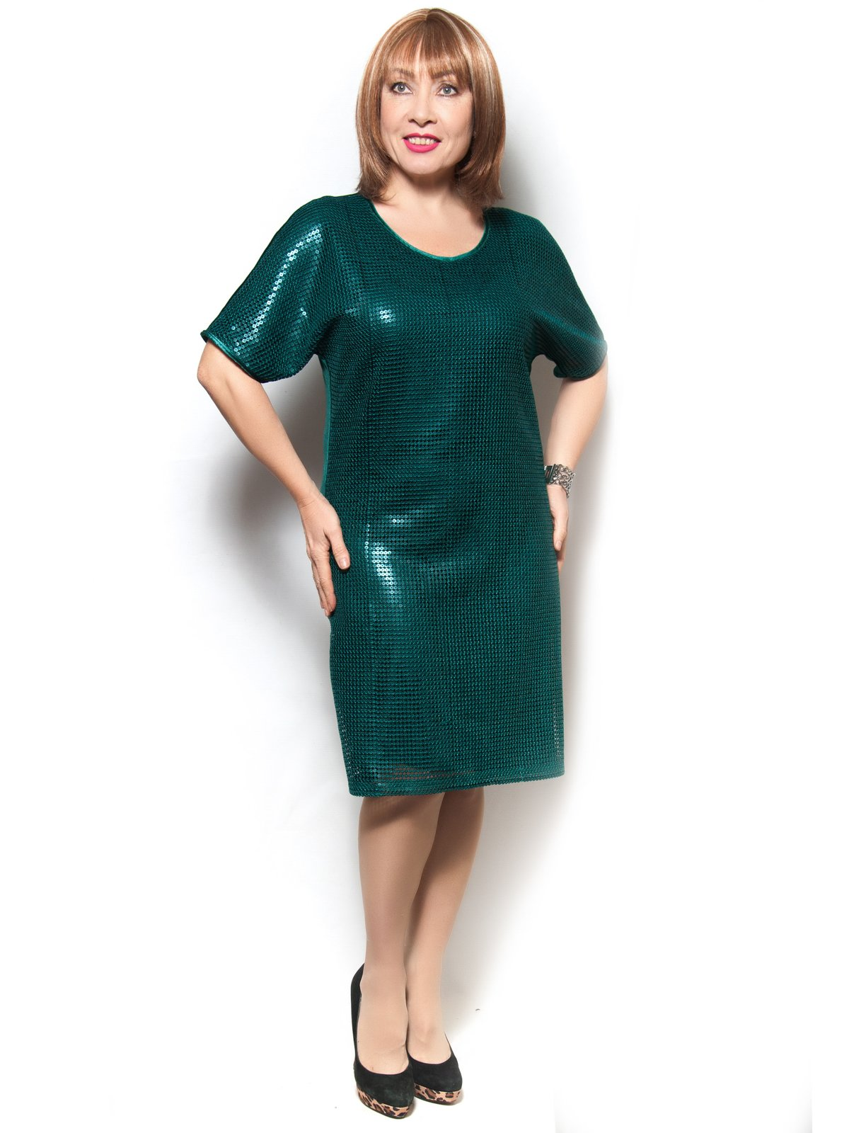 Платье зеленое | 3906842