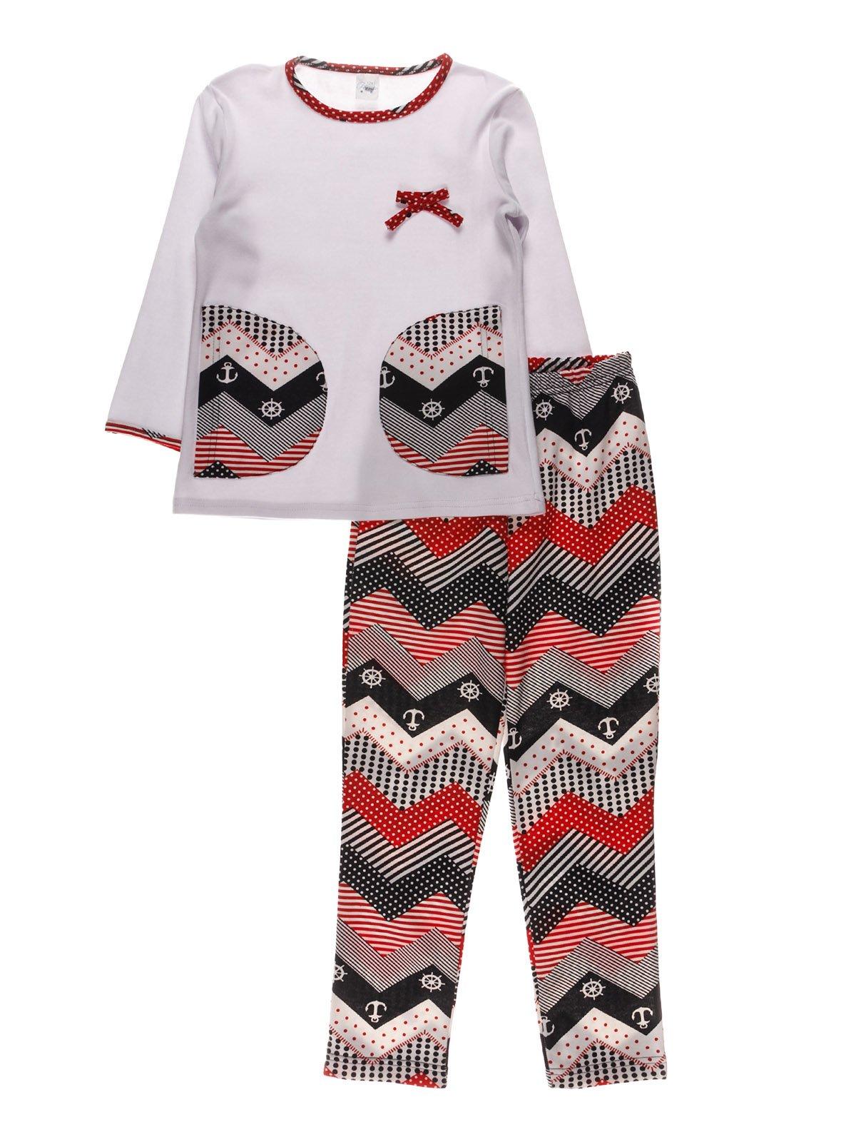 Піжама з начосом: джемпер і штани   3908207