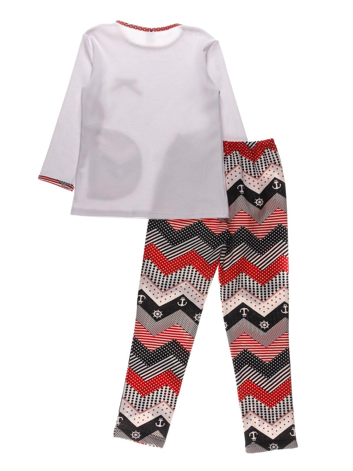 Піжама з начосом: джемпер і штани   3908207   фото 2